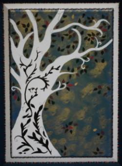 """""""unfolding"""" (lower panel) door circa 2012"""